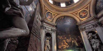 chigi chapel statues